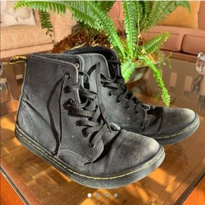 Dr.Martens - Black Canvas Boots